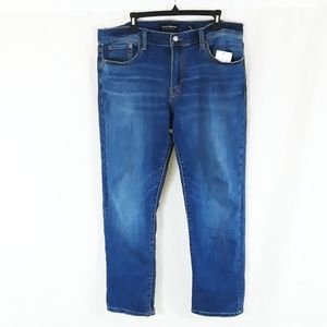NWT Lucky Brand 221 Straight 36/30 Jeans Blue
